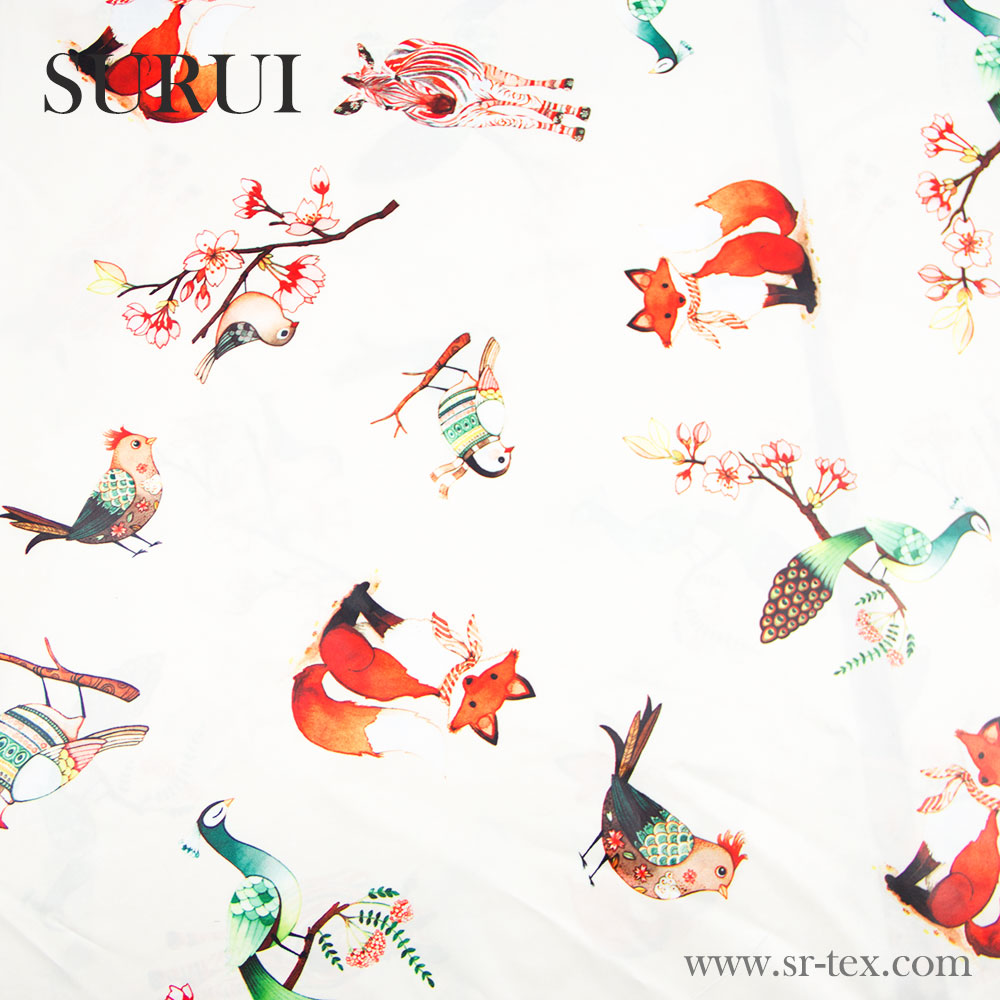 custom printed cotton fabric for chothing