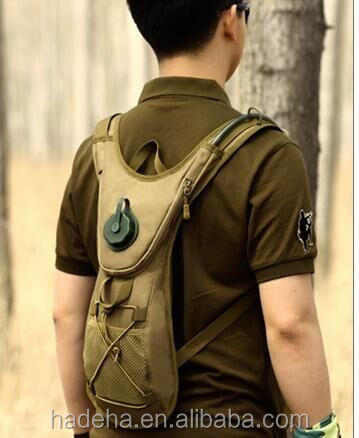 Hot selling special design military water holder bakcpack/hydration backpack