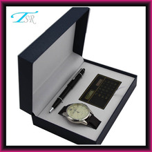 2014 Ball pen calculator watch gift sets for Father's Day popular in France and America