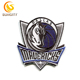 Custom Design Patch For NBA Baskeball Series Dallas Mavericks Embroidery Patch