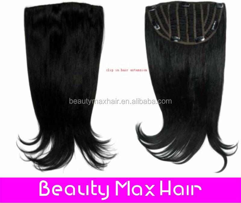 Brazilian Hair Clip Half Wig Brazilian Hair Clip Half Wig Suppliers