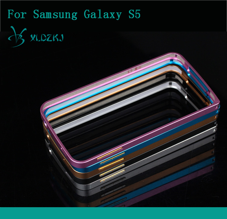 Ultrathin Aviation Frame Phone Cover Ultra Thin Metal Luxury Aluminum Bumper Case For Samsung Galaxy S5 i9600