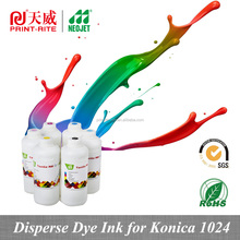 new premium custom t shirt printing disperse dye ink for konica 1024 6pl sublimation supplies