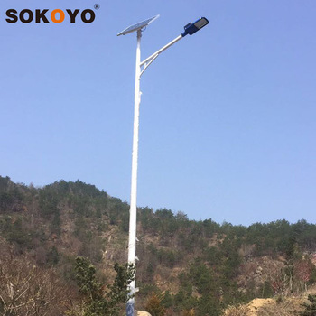 Top selling smart solar street lights with Lithium Battery