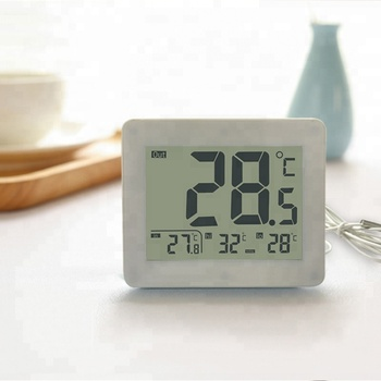 Large LCD Display Refrigerator Thermometer Digital Waterproof Freezer Room Fridge Thermometer ET872
