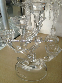 wedding antique crystal candelabra