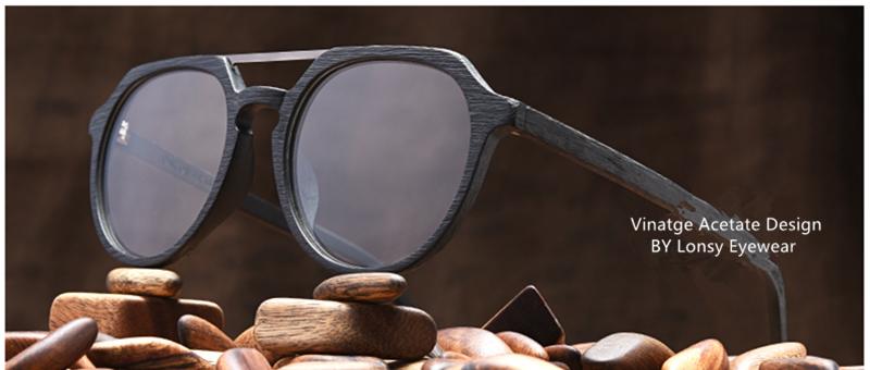 FT0363 Cat eye designer big acetate optical กรอบแว่นตา