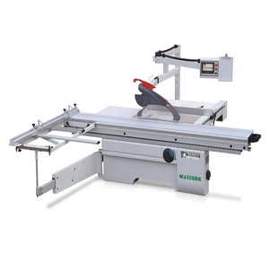 Woodworking heavy duty computer sliding table saw