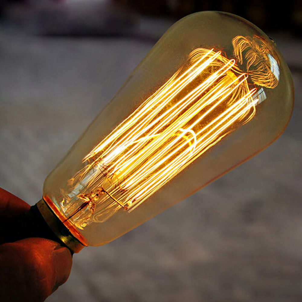 4W 6W 8W LED Long Filament <strong>Bulb</strong> E27 E26 110V 220V LED Vintage Edison Lighting LED Lamp