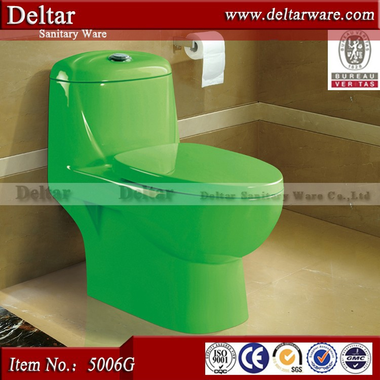 Russian Toilets,Color Sanitary Ware Product,One Piece Green Washdown ...