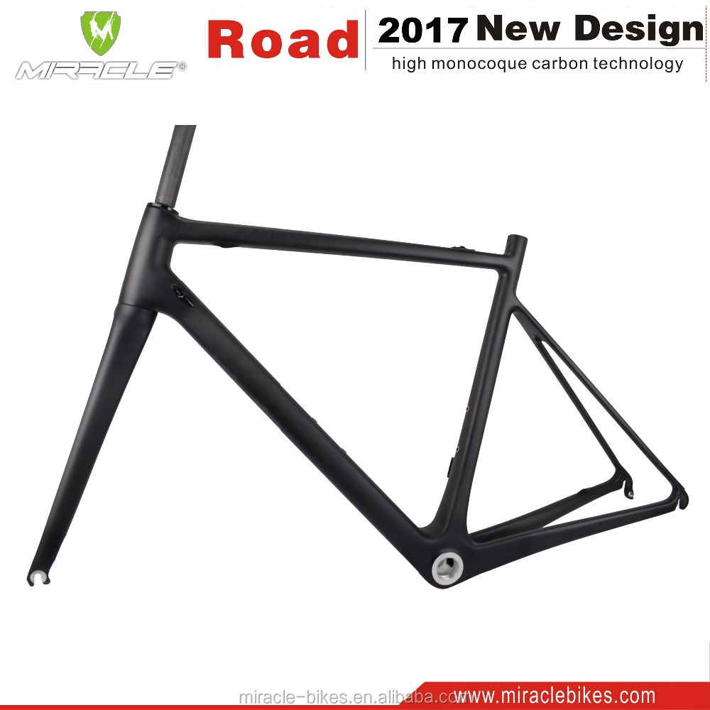 700C Full carbon racefiets frame China fabriek fabricage fietsframe alle interne kabel BSA/BB30 racefiets