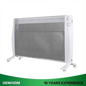Electric Heating Panel Humidifier Quartz Heater With Thermostat