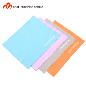 Hot Selling Logo Printed Microfiber Eyeglass and Guitar Cleaning Cloth
