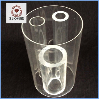 4 Inches Clear Transparent Round Pvc Plastic Pipe Plastic