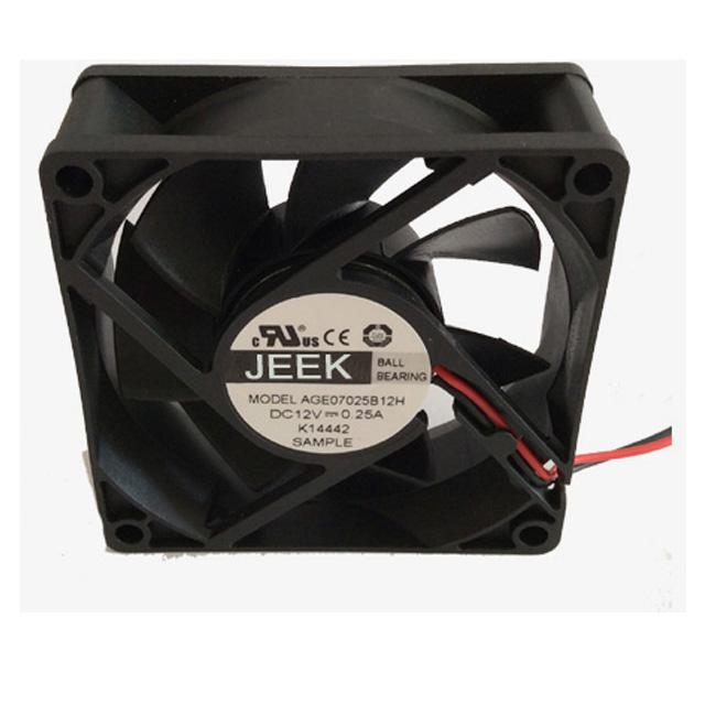 12 V Bi-directionele Dc Cooling 70 Mm Fan