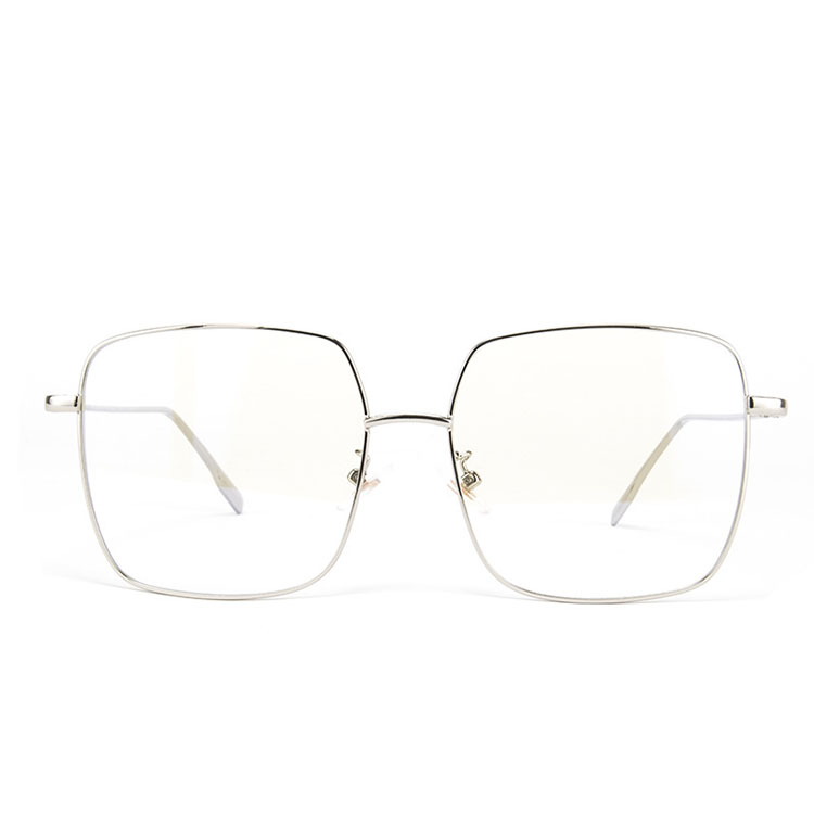 Clear Glasses Retro Eyeglasses Metal Gold Myopia Eyewear Women Men Spectacle Frames Optical Glasses Frame Transparent Lens