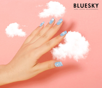 Bluesky Hot Selling High Quality Led Lamp Color Gel Polish For Nail