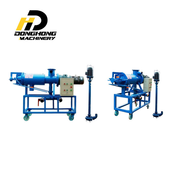 Farm Equipment cow dung dewatering machine