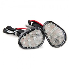 2 Motorcycle Yellow 3528 SMD 9 LED Turn Signal Light Indicator for Yamaha R1 R6