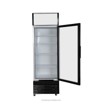 300L retro slim cooler Pepsi beverage cooler / upright display refrigerator showcase