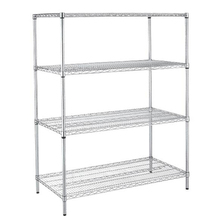 Stainless Steel Round Tube Wire Rack Shelving For Racking And Shelving