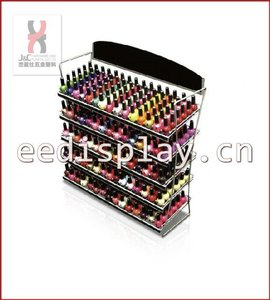 Hot Sale Nail Polish Wire Rack/Nail Colors Display Shelf