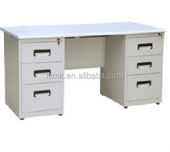 Lovely Metal Office Desk Bases,folding Desks Tables With Drawers,office Desk For 1  People