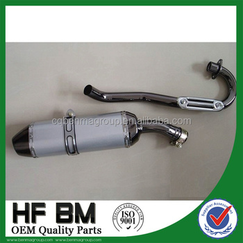 high performance 250cc, 400cc exhaust pipe manufacturers, aluminium alloy muffler silencer, used motorcycle exhaust