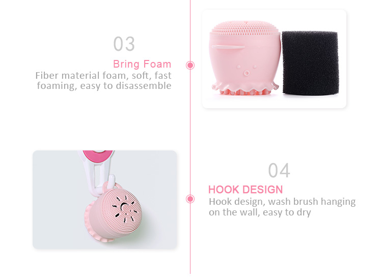New Product Ideas 2019 Beauty And Personal Care Silicone Facial Cleansing Brush