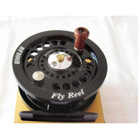 Economic useful quick release spool fly fishing reel