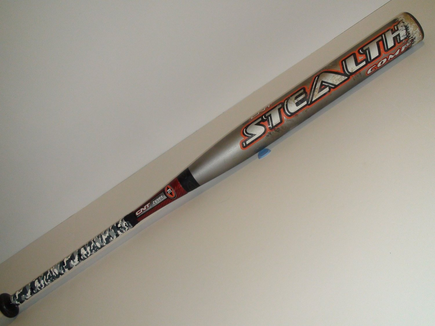 Get Quotations · Used Easton Stealth Comp CNT 34 28 Slowpitch Softball Bat  Gray Orange SCN5 ccb7ad2156