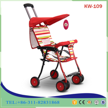 Comfortable china manufacturer high quality safety belt stroller baby for newborn foldable stroller
