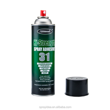 Multipurpose Silicone Adhesive Spray Glue For car upholstery fabric camouflage