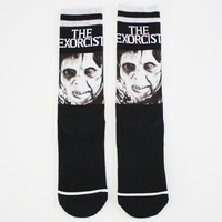 Sublimation printing socks 3d custom scared pattern knitted socks