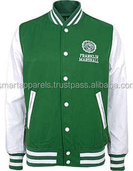 sublimation zip and button baseball style customized man/woman winter varsity jacket/bomber jackets