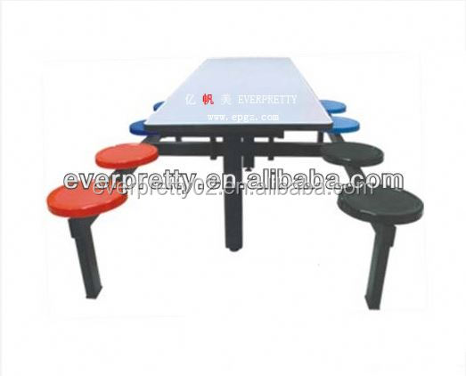 Dinning Table and Chair,8 Person of School Canteen Dining Table,Hospital Dinning Table