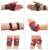 6 Pcs Knee Elbow Wrist Protective Pad Safety Guard For Kids Skiing Skateboard