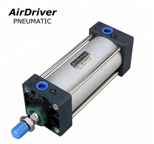 SC Pneumatic Cylinder Airtac Standard double acting air cylinder with New model Dustproof