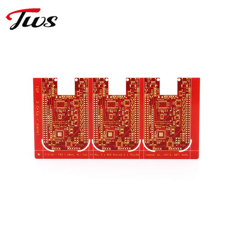 High quality ENIG pcb design manufacturer,,mainboard lcd tv,94v0 circuit board