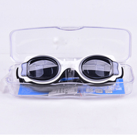 Adult Unisex Summer Swim Goggles Plastic Waterproof Silicone Rubber Swimming Sports Goggles