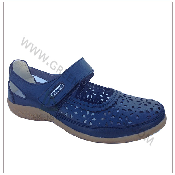 One Touch Mary Jane Ladies Fancy Flat Shoes