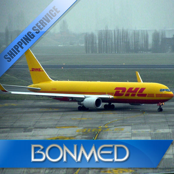 shipping dhl from china to south africa from China guangdong