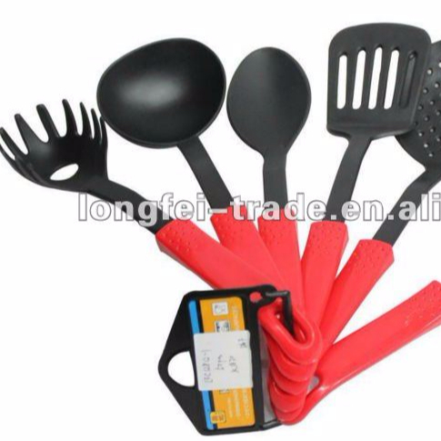 High Quality Bright Color Silicon Kitchen Utensils Set