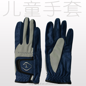 Customized wholesale golf gloves with fabric material gloves golf