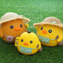 Personalizzato cartoon yellow duck money box promotion <span class=keywords><strong>anatra</strong></span> piggy bank