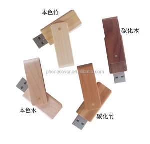 Natural Real Wood 2019 Free Samples Flash USB Drive 2.0 Custom Pendrive