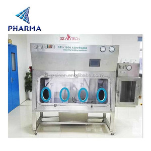 ISO5 pharmaceutical sterility test isolator with GMP standard