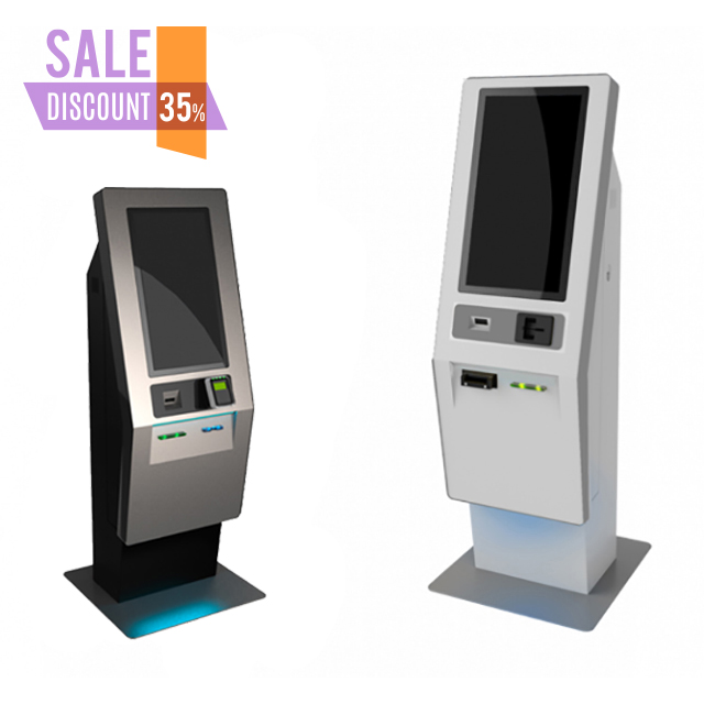 Fabriek Prijs 21.5 inch Touch Screen Zelfbedieningsterminal Kiosk/Ticket Automaat Kiosk/bill Betaling Machine