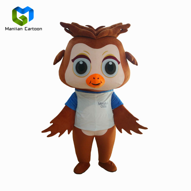 Custom Factory professionnelle adulte mascotte animale oiseau costume de mascotte