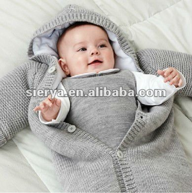 baby gestrickte schlafs cke schlafsack f r baby produkt id 665773425. Black Bedroom Furniture Sets. Home Design Ideas